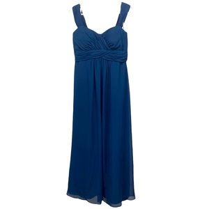 Christina Wu Gown Navy size 10